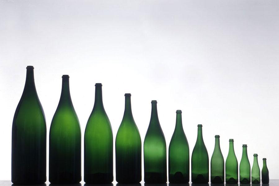 Formati bottiglie di champagne